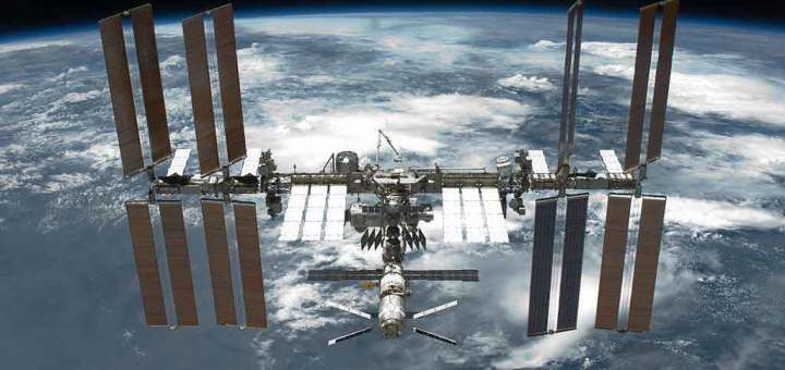 International Space Station Undocking