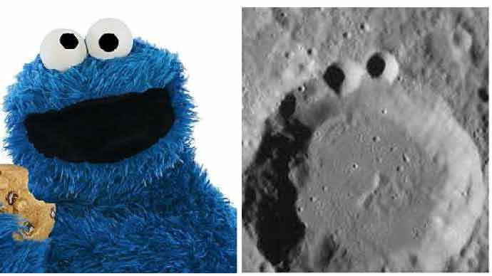 Cookie Monster Crater